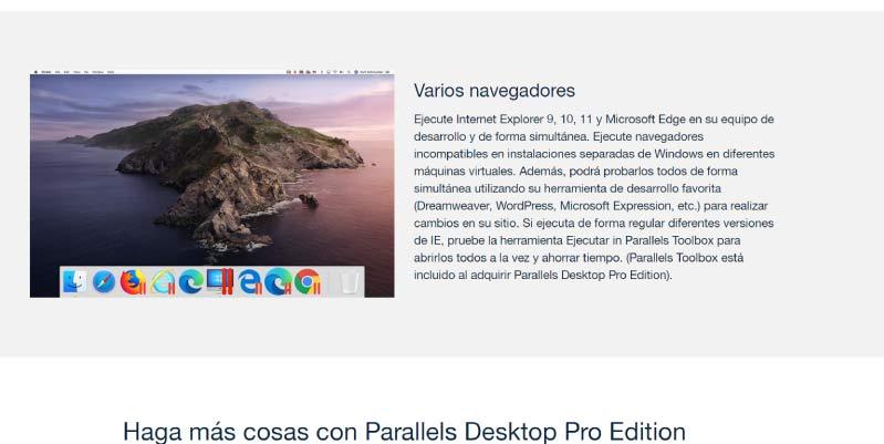 parallel desktop windows