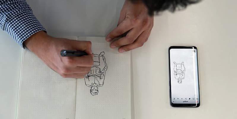 dibujar app
