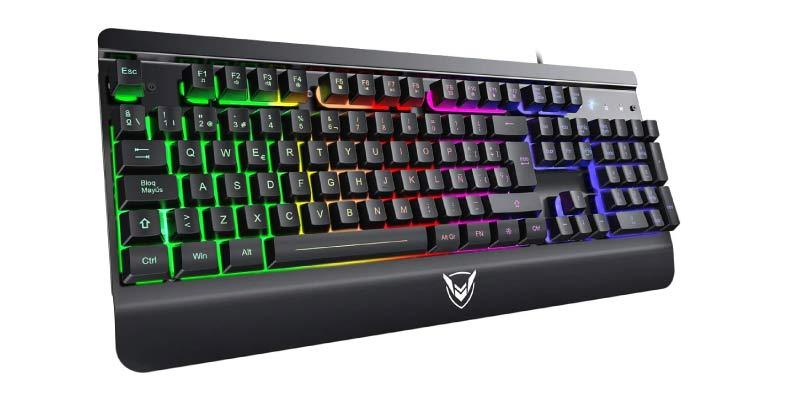 teclados mecanicos gaming baratos