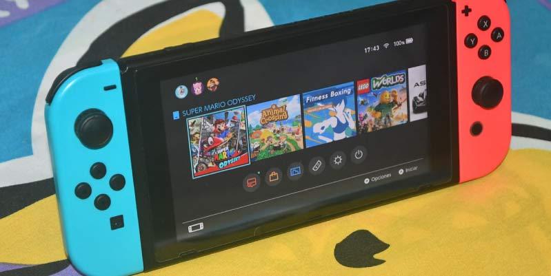 Juegos de plataformas Switch